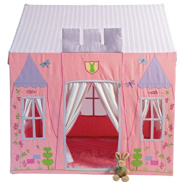 Children's Girls Large Win Green Princess Castle Playhouse
